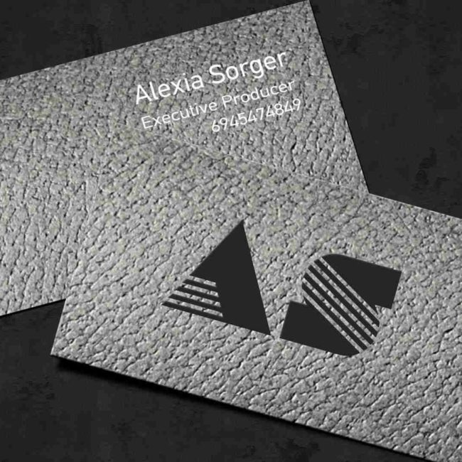 Duplex matte business card from graphtype.
